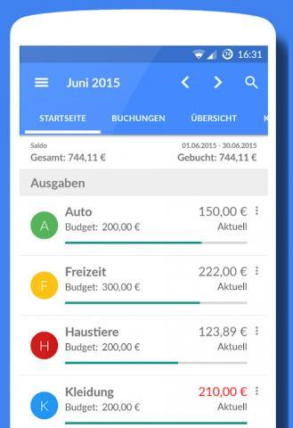 App-Tipp: Haushaltsbuch