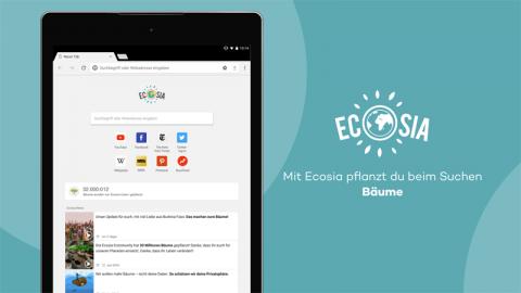 Suchmaschine Ecosia
