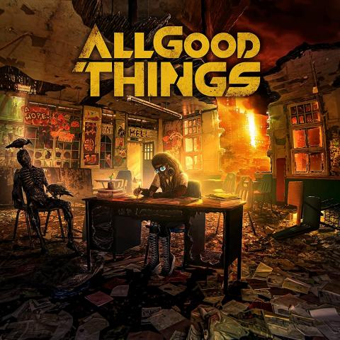 """Albumcover: All Good Things """"A Hope In Hell"""""""