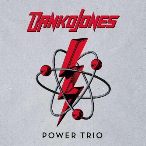"Albumcover: Danko Jones ""Power Trio"""