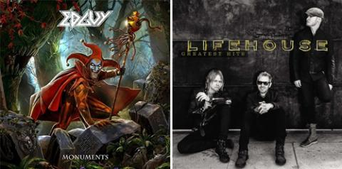 Edguy: Monuments + Lifehouse: Greatest Hits