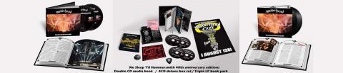 "Das Motörhead Boxset zu ""No Sleep 'till Hammersmith"""