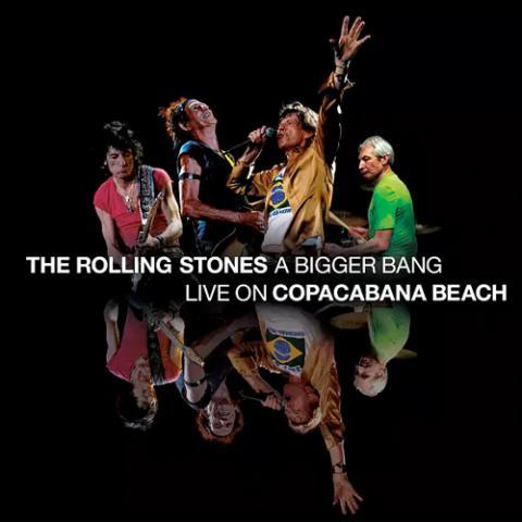 "The Rolling Stones ""A Bigger Bang – Live On Copacabana Beach"" Album Cover"