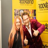 Die beiden Finalisten im Rockland Studio