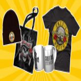 Guns n' Roses Fanset gewinnen