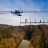 Harzdrenalin: Hängebrücke