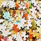 Puzzle aus Plattencovern