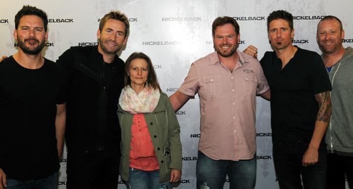 Gewinner Nicole und Marcel, Nickelback